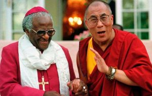 Dalai Lama and Desmond Tutu - living and speaking about the greatest joy